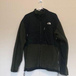 Men's Army green North Face Denali jacket